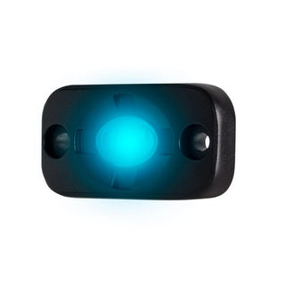 "HEISE Auxiliary Accent Lighting Pod - 1.5"" x 3"" - Black-Blue"