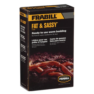 Frabill Fat & Sassy Pre-Mixed Worm Bedding - 2.5lbs