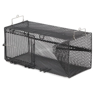 "Frabill Black Pinfish Rectangular Trap - 18"" x 12"" x 8"""