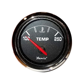 "Faria 2"" Water Temp Gauge f-Bayliner - Black"