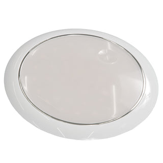 "Innovative Lighting 5"" Round 42 Cool White LED w-Touch Switch - White Bezel - 12-24V"