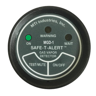"Safe-T-Alert Gas Vapor Alarm UL 2"" Instrument Case - Black"