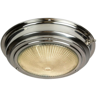 "Sea-Dog Stainless Steel Dome Light - 5"" Lens"
