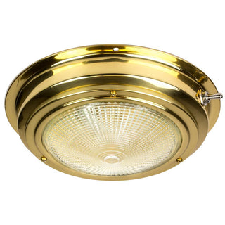 "Sea-Dog Brass Dome Light - 5"" Lens"