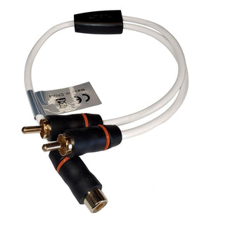 FUSION EL-RCAYM RCA Standard Splitter 1 Female to 2 Male