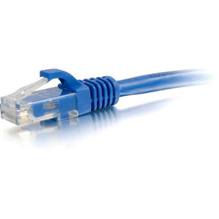 C2G 25ft Cat5e Snagless Unshielded (UTP) Network Patch Ethernet Cable-Blue