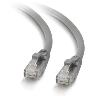 C2G 14ft Cat5e Snagless Unshielded (UTP) Network Patch Ethernet Cable-Gray