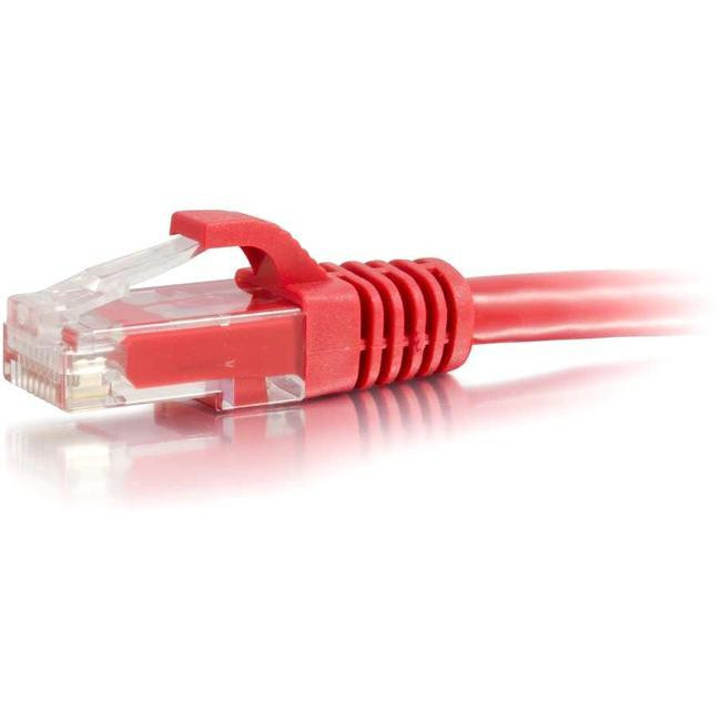 C2G-7ft Cat6 Snagless Unshielded (UTP) Network Patch Cable - Red