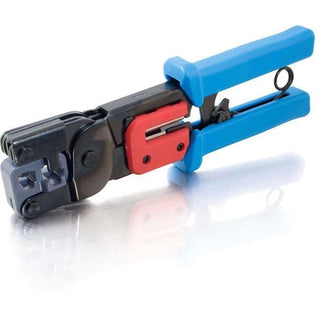 C2G RJ11-RJ45 Crimping Tool with Cable Stripper