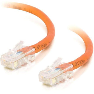 C2G-10ft Cat5e Non-Booted Crossover Unshielded (UTP) Network Patch Cable - Orange