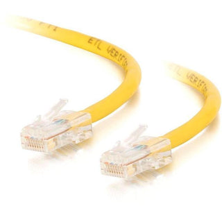 C2G-14ft Cat5e Non-Booted Crossover Unshielded (UTP) Network Patch Cable - Yellow