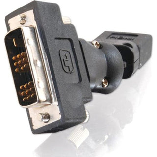 C2G 360° Rotating HDMI Female to DVI-D Male Adapter