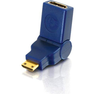 C2G Velocity 90? Rotating HDMI Female to HDMI Mini Male Port Saver Adapter