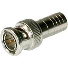 C2G RG6-U Crimp BNC Connector - 10pk