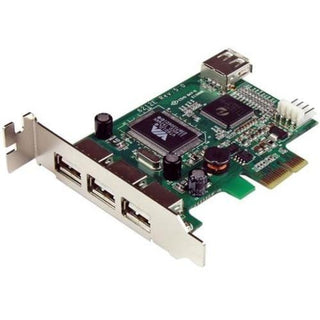 StarTech.com 4-port PCI Express LP USB Adapter Card