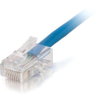 C2G 25ft Cat5e Non-Booted Unshielded (UTP) Network Patch Cable (Plenum Rated) - Blue