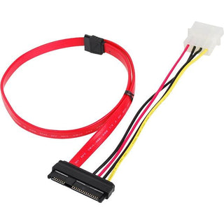 SIIG SFF-8482 to SATA Cable with LP4 Power