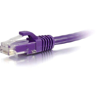 C2G-2ft Cat6 Snagless Unshielded (UTP) Network Patch Cable - Purple