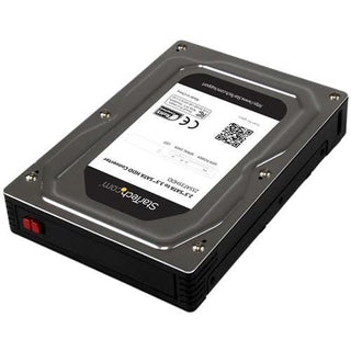 "StarTech.com 2.5"" to 3.5"" SATA Aluminum Hard Drive Adapter Enclosure with SSD - HDD Height up to 12.5mm"