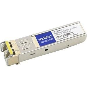 AddOn HP JD109A Compatible TAA Compliant 1000Base-CWDM SFP Transceiver (SMF, 1550nm, 70km, LC)