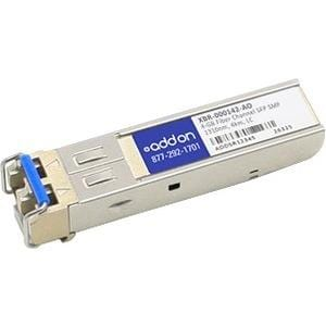 AddOn Brocade XBR-000142 Compatible TAA Compliant 4Gbs Fibre Channel LW SFP Transceiver (SMF, 1310nm, 4km, LC)