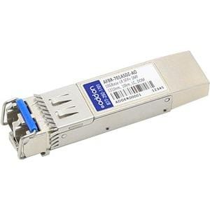 AddOn Avago AFBR-701ASDZ Compatible TAA Compliant 10GBase-LR SFP+ Transceiver (SMF, 1310nm, 10km, LC, DOM)