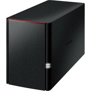 Buffalo LinkStation 220 2TB Personal Cloud Storage with Hard Drives Included