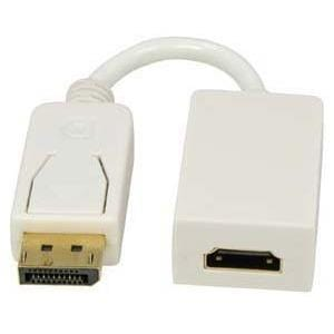 Unirise Displayport Male to HDMI Female Adapter