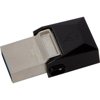Kingston 32GB DataTraveler microDuo USB 3.0 On-The-Go Flash Drive