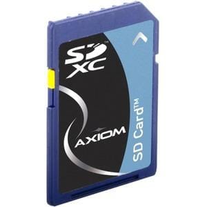 Axiom 128GB Secure Digital Extended Capacity (SDXC) Class 10 Flash Card