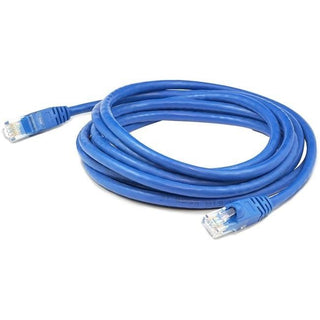 AddOn 25-pack of 1ft RJ-45 (Male) to RJ-45 (Male) Blue Cat6A UTP PVC Copper Patch Cables