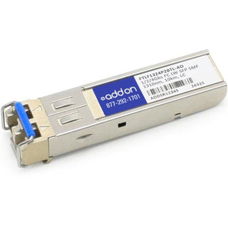 AddOn Finisar FTLF1324P2BTL Compatible TAA Compliant 1-2-4Gbs Fibre Channel LW SFP Transceiver (SMF, 1310nm, 10km, LC)