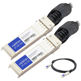AddOn MSA and TAA Compliant 10GBase-CU SFP+ to SFP+ Direct Attach Cable (Passive Twinax, 7m)