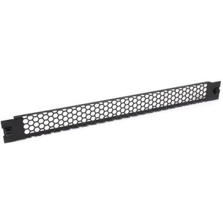 StarTech.com Blanking Panel - 1U - Vented - 19in - Tool-less - Steel - Black - TAA Compliant - Blank Rack Panel - Filler Panel