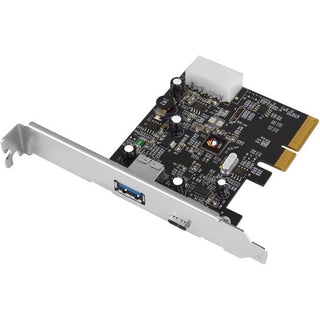 SIIG USB 3.1 2-Port PCIe Host Adapter - Type-A-C