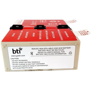 BTI Replacement Battery RBC123 for APC - UPS Battery - Lead Acid