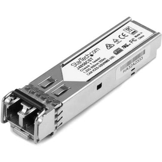 StarTech.com HP J4858C Compatible SFP Module - 1000BASE-SX Fiber Optical SFP Transceiver - Lifetime Warranty - 1 Gbps - Maximum Transfer Distance: 550 m (1804 ft)