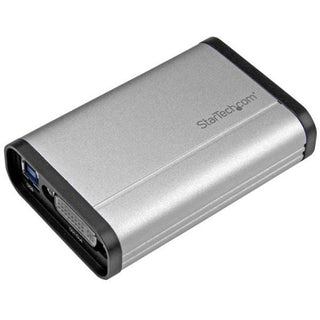 StarTech.com DVI Video Capture Card - 1080p 60fps Game Capture Card - Aluminum - Game Capture Card - HD PVR - USB Video Capture