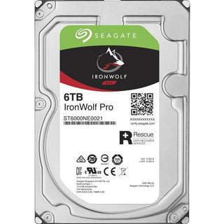"Seagate IronWolf Pro ST6000NE0021 6 TB Hard Drive - 3.5"" Internal - SATA (SATA-600)"