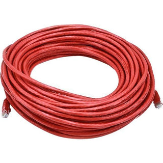 Monoprice Cat6 24AWG UTP Ethernet Network Patch Cable, 75ft Red
