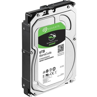 "Seagate BarraCuda ST6000DM003 6 TB Hard Drive - 3.5"" Internal - SATA (SATA-600)"
