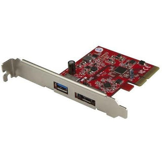StarTech.com 2 Port USB 3.1 (10Gbps) + eSATA PCI Express Card - 1x USB-A + 1x eSATA - USB 3.1 PCIe Card & eSATA Card - USB 3.1 Expansion Card