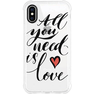OTM Phone Case, Tough Edge, All You Need is Love