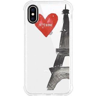 OTM Phone Case, Tough Edge, Eifel Tower
