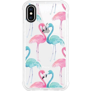 OTM Phone Case, Tough Edge, Flamingo Duo
