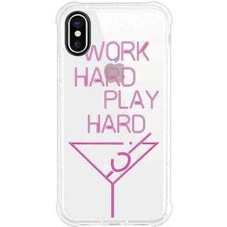 Centon Phone Case, Tough Edge, Work Hard Play Hard