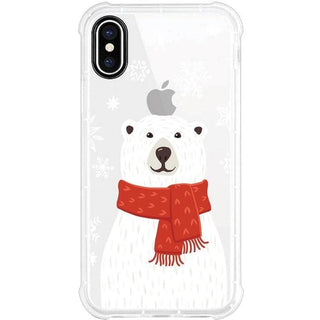 OTM Phone Case, Tough Edge, Winter Bear
