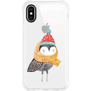 OTM Phone Case, Tough Edge, Winter Owl