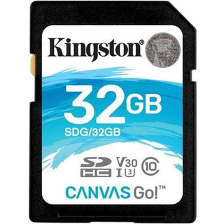 Kingston Canvas Go! 32 GB Class 10-UHS-I (U3) SDHC