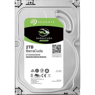 "Seagate BarraCuda ST2000DM008 2 TB Hard Drive - 3.5"" Internal - SATA (SATA-600)"